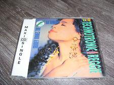 TECHNOTRONIC FEAT. REGGIE - MONEY MAKES THE WORLD GO ROUND *4 track CD MAXI 1991