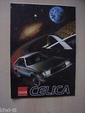 Toyota Celica Coupe 1600ST, Liftback 2000 XT+ 2000 GT Twincam Prospekt, NL