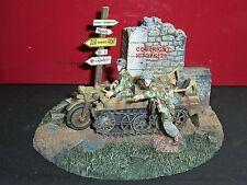 Britains 17638 german paratroopers kettenkrad véhicule en métal toy soldier set