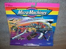 PRESIDENTIAL  Micro Machines Set Air Force One , Limo