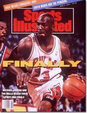 June 3, 1991 Michael Jordan Chicago Bulls Sports Illustrated
