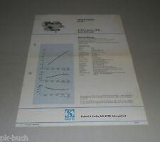 Typenblatt / Technische Daten Sachs-Stamo SB 96 Rasenmähermotor Stand 1967