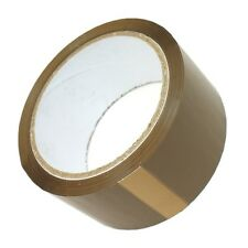 72 Rolls BROWN TAPE...... cellotape strong packaging wide big long parcel colour