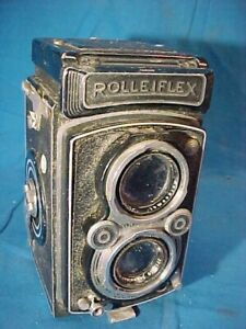 Vintage ROLLEIFLEX 3.5A TLR Medium Format CAMERA 1:3.5 F=75MM Rollei Honeywell