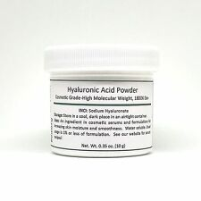 Pure Hyaluronic Acid Serum Powder, DIY Ingredient for Serum and Skin Care, 10g