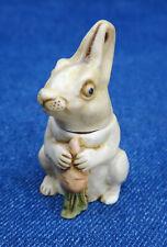 "Harmony Kingdom Rabbit figure ""Marqui de Blanc"" 1997 mini pendant box Uk retired"