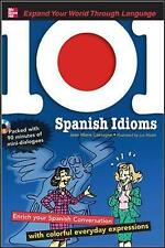 101 Spanish Idioms with MP3 Disc: Enrich your Spanish conversation-ExLibrary