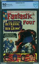 Fantastic Four #41 CBCS 9.0 (CGC peer) -- 1965 - Ben Grimm quits. Frightful Four