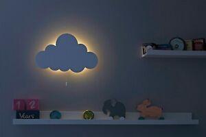 Cloud Wall LED Light / Nursery Lighting / Baby Kids Room Decor / Night Lights