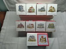 New ListingThe Americana Collection Liberty Falls Miniature Village 9 Different Buildings
