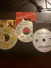 Lot Of 3 Quincy Jones Cds