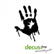 Zombie Hand // Sticker JDM Aufkleber Frontscheibe