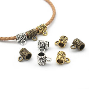 20 X Tibetan Silver/Gold/Bronze Charm Connectors Bails Jewelry Findings