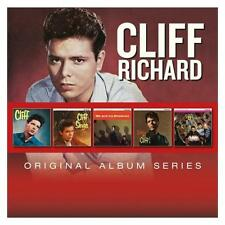 CLIFF RICHARD 5CD NEW Drifters Cliff/Cliff Sings/Me And My Shadows/Listen/21