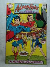 Adventure Comics #368 Mutiny of the Super-Heroines 1968 D C Comic Book