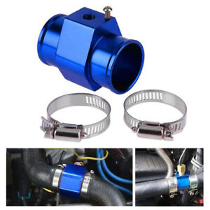 38mm Car Water Temperature Temp Sensor Gauge Radiator Hose Joint Pipe Set 1/8""