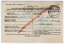 (I.B) South Africa Revenue : Wireless Licence (1953)