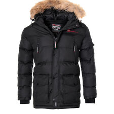 Geographical Norway Chaqueta Invierno Hombre muy Cálida Exterior Parka Anorak