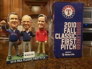Texas Rangers 2010 Fall Classic First Pitch Bobblehead.  Nolan Ryan.