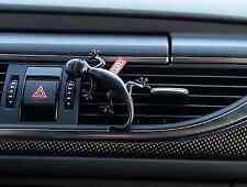 Genuine Audi Black Gecko Air Freshener - Aromatic/Woody Scent