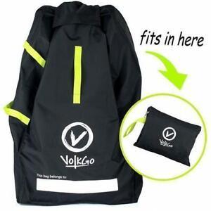 VolkGo Durable Car Seat Travel Bag - Ideal Gate Check Bag for Air Travel
