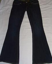 """Seven 7 Flare Denim Jeans sz 4 *Inseam 33"""" *BLING!"""