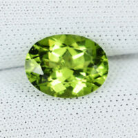 1.84 ct HI END LUSTROUS - BEST GRADE NATURAL PERIDOT - Oval - See Vdo - 3030