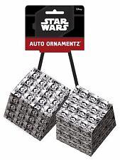 Star Wars Stormtrooper Rear View Mirror Auto Hanging Dice