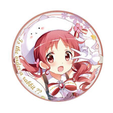 GochiUsa Is the Order a Rabbit? Megumi Character Sega Limited Can Badge Pin