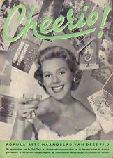 MAGAZINE CHEERIO 1958 nr. 134 - SUSAN BEAUMONT/ROBERT WAGNER/ABBE LANE/MARY URE