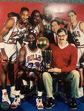 Chicago Bulls Michael Jordan & Scotty Pippen Signed 8x10 Photo W/COA