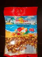 JAMAICAN ISLAND SPICE CRUSHED PEPPER -  1 OZ X 2 PACKS - FROM JAMAICA