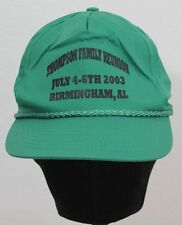 2003 Thompson FAMILY REUNION Birmingham Alabama SNAPBACK HAT CAP St Paddys EUC