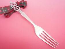 Silver Fork, Sterling, Arts Crafts, English, Dessert, Cutlery, Hallmarked 1908.