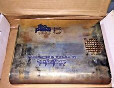 Rockford Fosgate Punch 75 amplifier cover amp shroud new in box! GOLD COVER RARE