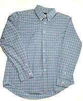 Polo Ralph Lauren Mens Multicolored Checked Long Sleeve Button Shirt XLarge