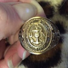 U.S. Navy (USN) 10K Gold Ring 10K Gold 7 Grams