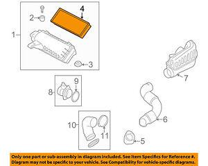 MINI OEM 07-15 Cooper Engine-Air Cleaner Filter Element 13717561235