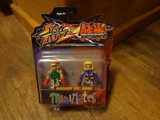 2012 DIAMOND SELECT MINIMATES-STREET FIGHTER x TEKKEN--CAMMY vs NINA FIGURES