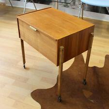 BEISTELLTISCH ROLLTISCH 50ER JAHRE MID CENTURY MODERN DESIGN SIDE TABLE VINTAGE