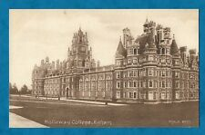 C1920s PC HOLLOWAY COLLEGE, EGHAM, SURREY