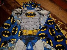 BNWT baby boys sunsuit protective UPF 40+ UV Batman PLUS hooded towel cape 2-3yr