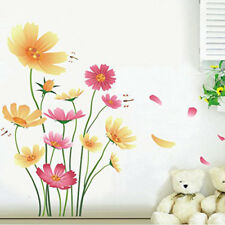 Floral Butterfly Dragonfly Mural Sticker Modern Nursery Home Wall Decal Salable