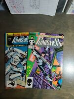 The Punisher 2 book lot #1,annual #1(1988)~ Marvel Comics 1987 ~ NM