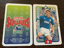 Subbuteo Squads 1996 Trading Card: Everton - MATTHEW JACKSON