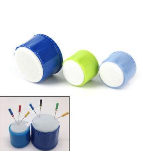 1x Dental Autoclavable Endo Stand Cleaning Foam Sponge File Holder Clean H;U te