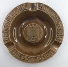 Vintage Wittekind Buedingen German Brewery Gatzweilers Alt Astray Brown Ceramic