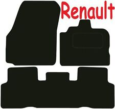 Tailored Deluxe Quality Car Mats Renault Scenic 2004-2009 ** Black ** MPV