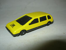 Small Plastic Yellow GS Construction Car, unknown brand or date (EB7-17)