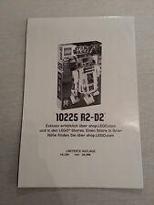 LEGO® Star Wars™ Poster R2-D2 10225 Neu Promo selten limitiert numeriert